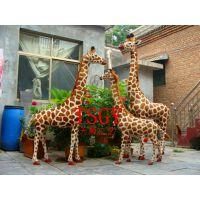 仿真长颈鹿 大型仿真动物 公园摄影照相展览道具 可乘骑