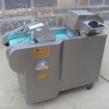 大肉块不锈钢切丁机 启航地瓜切片机 多功能电动不锈钢切丝机