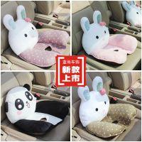 新款 卡通萌兔系列 汽车内饰用品 美臀垫汽车单孔立体坐垫
