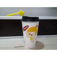 卡通爆款奶茶纸杯咖啡纸杯批发