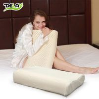 【伙拼】DELAY 颈椎枕 保健枕 护颈枕 乳胶枕头芯 天然橡胶长枕头