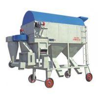 供应移动式粗选圆筒清理筛---宏伟机械专业制造