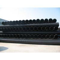 HDPE钢带增强螺旋波纹管 DN300 sn8 PE钢带管 钢塑复合强度高 价格优惠 湖南易达塑业