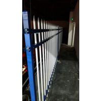静电喷塑涂塑 新型组装式插接镀锌锌钢护栏社区小区厂区围墙栏杆