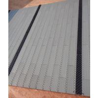900防滑网链 PP塑料网链 节距27.2带胶防滑平面网带爬坡贴胶