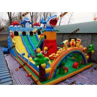 儿童城堡蹦蹦床游乐场设备 厂家直销充气城堡蹦床 郑州儿童充气蹦蹦床