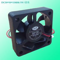 XHR除尘散热风机5015 DC5V12V24V直流散热风机滚珠纯铜高转速大风量