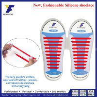 No Tie Shoelaces For Kids Silicone Shoe Laces