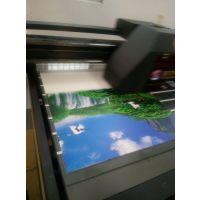 厂家直销广理光UV平板广告灯箱打印机