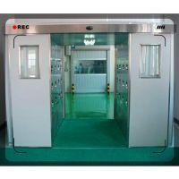 外钢板内不锈钢 卷帘门货淋室,自动门货淋室 禄米