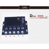 供应深圳市金宁时代科技有限公司6路视频复用器监控视频多路复合器共缆传输器一线通叠加器抗干扰