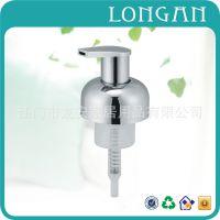 卫浴厂家推荐AP46镀铬塑料泡沫皂液器 亚克力套装液瓶浴室配件