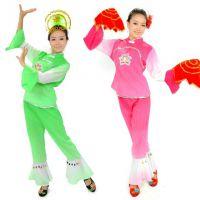 丹美斯|荷花秧歌服东北大汉族秧歌演出服广场舞服民族服装舞台装