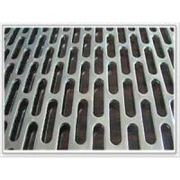 吸油烟机专用不锈钢板冲孔网厂家-长圆孔冲孔板价格