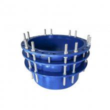 排污管道DN80双法兰限位伸缩器接头 单法兰限位伸缩器 松套伸缩接头