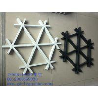 上海铝格栅生产厂家 三角形铝格栅 木纹铝格栅 性价比的铝格栅