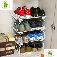 金属折叠加多层小物品厨房桌面整理架寝室宿舍神器收纳置物架鞋架