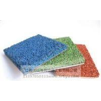 江西赣州EPDM彩色橡胶颗粒地面工程江西洪瑞体育十年品质13397050333