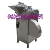 大洋牌自动木瓜切丁机,专用莴苣切丁机