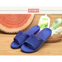 夏季新款男拖鞋居家浴室防滑凉拖鞋PVC镂空时尚拖鞋厂家直销批发