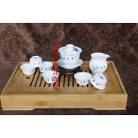陶瓷礼品茶具定做 景德镇白瓷茶具定做