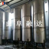 融达国标304不锈钢酒罐群 勾兑罐 储酒罐 厂家专业制作