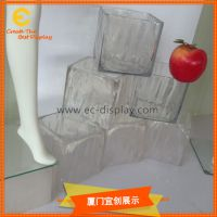 夏季美陈橱窗定制仿真冰块道具 透明树脂道具