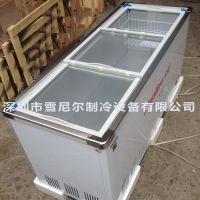 南凌冷柜 卧式直冷单温冷冻冷藏柜,出口SC/SD-508 特大糖水柜