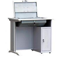 翻转电脑桌、广州博奥(图)、电教室翻转电脑桌