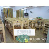 特价促销进口樟子松实木床儿童双人床婴儿床 幼儿园专用木床