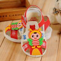 2015韩版品牌夏季新款儿童凉鞋 小童宝宝凉鞋批发 婴儿鞋防滑软底
