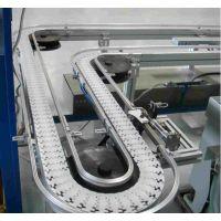 环形链条输送机 ,齿形链板线