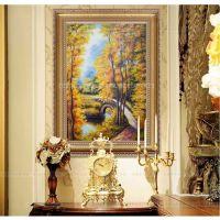 欧式风景客厅装饰画卧室走廊玄关电表箱挂画有框艺术家居壁画墙画