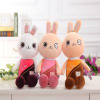 2105时尚创意可爱大兔小兔创意公仔 挂件 毛绒玩具娃娃 生日礼物