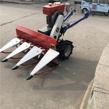 铺放整齐水稻收割机 苜蓿收割机专家 手扶式谷子收割机