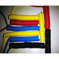 厂螺旋线,缘哲通线缆,螺旋线雾面弹簧曲线