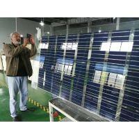 太阳能发电玻璃285W光伏发电双玻组件适合阳光房露台大棚等北京怀能