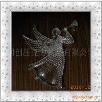 厂家供应亚克力天使挂件(圣诞挂饰,天使持饰)