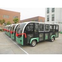 封闭蓄电池观光车 蓄电池营运车 蓄电池公交车