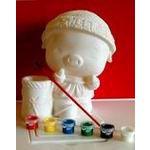 供应大号摔不坏陶瓷画,摔不坏石膏像娃娃,搪胶彩绘玩具批发