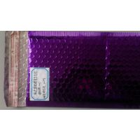 紫色绿色粉色蓝色银色黑色镀铝膜复合气泡袋