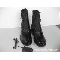 可充电电暖靴 真皮电热靴 牛皮保暖皮靴 室外皮鞋  阿特弥斯正品