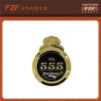 汽车坐垫五金标牌_F2F_汽车坐垫五金标牌定制