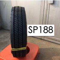 邓禄普轮胎750R16 825R16全钢丝载重卡客货车轮胎