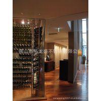 彩色不锈钢酒架 红葡萄酒酒架 挂酒架 葡萄酒酒架 酒吧酒架