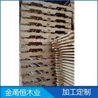 宁波木制品供应松木开槽托盘  四面进叉托盘  实木托盘  熏蒸托盘