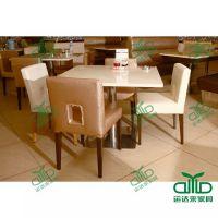 厂家直销优质大理石餐饮快餐厅桌椅 西餐厅茶餐厅桌椅 ,欢迎来图定做