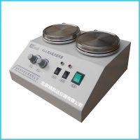 北京精凯达JK216662双工位双联磁力搅拌器 双头恒温磁力搅拌器 多头不锈钢加热盘 HJ-2