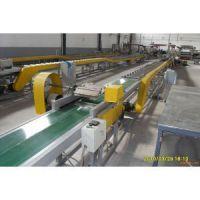 供应山东绿色pvc胶片冷却线皮带输送带