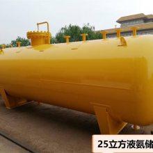 菏泽锅炉厂,10立方液氨储罐,脱销工程用设备